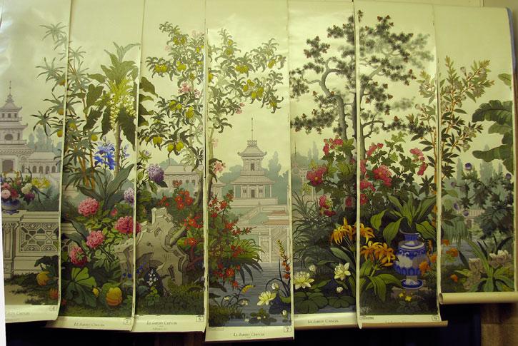 zuber wallpaper panels online image